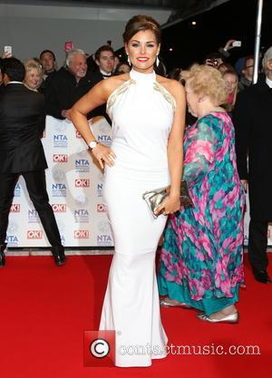 Jessica Wright - National Television Awards- Arrivals London United Kingdom Wednesday 23rd January 2013