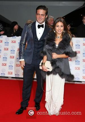 Spencer Matthews and Louise Thompson - National Television Awards- Arrivals London United Kingdom Wednesday 23rd January 2013