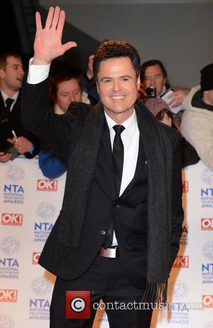 Donny Osmond - National Television Awards 2013 London United Kingdom Wednesday 23rd January 2013