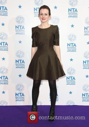 Sophie McShera - National Television Awards - Press Room London United Kingdom Wednesday 23rd January 2013
