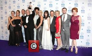 Michelle Collins, William Roache Mbe, Jenni Mcalpine, Alan Halsall, Andy Whyment, Natalie Gumede and Other Cast Members Of Coronation Street