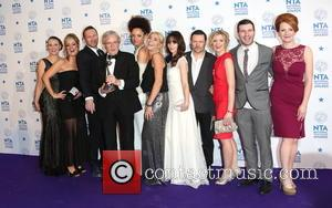 Michelle Collins, William Roache, Jenni Mcalpine, Alan Halsall, Andy Whyment, Natalie Gumede and Coronation Street