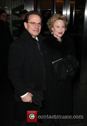 Peter Scolari and guest - 'Parker' NY Premiere New York City NY USA Wednesday 23rd January 2013