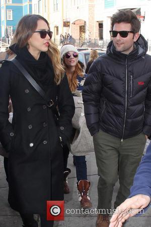 Jessica Alba and Adam Scott
