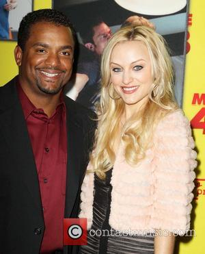 Alfonso Ribeiro and Angela Unkrich -