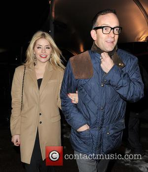 Holly Willoughby and Dan Baldwin - The 2013 National Television Awards London United Kingdom Wednesday 23rd January 2013