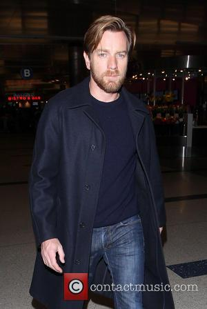 Ewan McGregor - Celebrities arriving at Los Angeles International Airport (LAX) Los Angeles California United States Wednesday 23rd January 2013