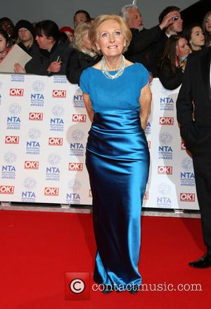 Mary Berry - The National Television Awards (NTA's) 2013 held at the O2 arena - Arrivals London United Kingdom Wednesday...