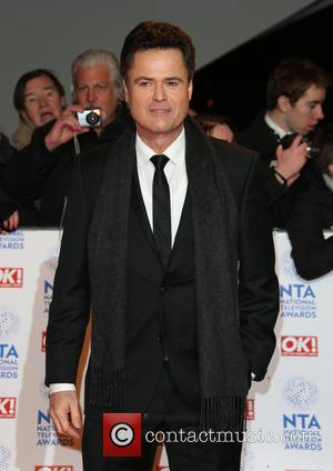 Donny Osmond - National Television Awards- Arrivals London England United Kingdom Wednesday 23rd January 2013