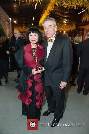 Amy Tan and Lou Demattei