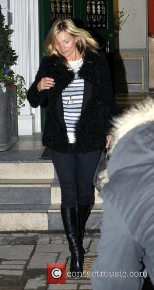 Kate Moss - Celebrities out and about in central London London United Kingdom Thursday 24th January 2013