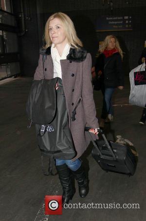 Jane Danson - Coronation Street leave via Euston Station London England United Kingdom Thursday 24th January 2013