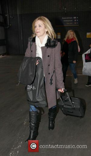 Jane Danson - Coronation Street leave via Euston Station London England United Kingdom Thursday 24th January 2013