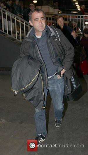 Michael Le Vell - Coronation Street leave via Euston Station