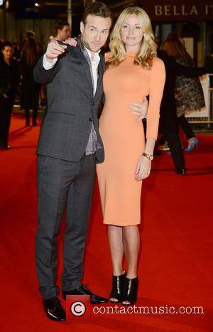 Rafe Spall and Elize Du Toit - I Give It a Year Premiere London England United States Thursday 24th January...