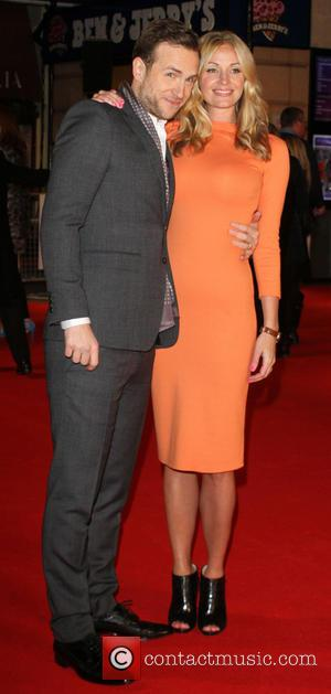 Rafe Spall and Elize du Toit - I Give It a Year Premiere London United Kingdom Thursday 24th January 2013