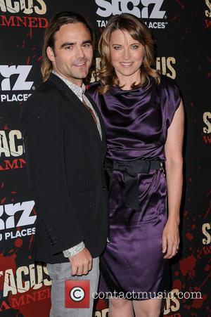 Dustin Clare and Lucy Lawless - Spartacus: War Of The Damned New York City USA Thursday 24th January 2013