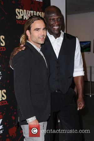 Dustin Clare and Peter Mensah - Spartacus: War Of The Damned New York City USA Thursday 24th January 2013