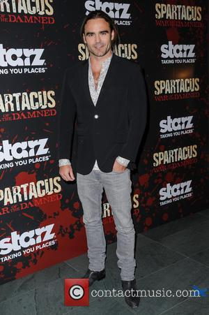 Dustin Clare - Spartacus: War Of The Damned New York City USA Thursday 24th January 2013