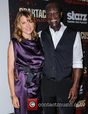 Lucy Lawless and Peter Mensah - Spartacus: War Of The Damned New York City USA Thursday 24th January 2013