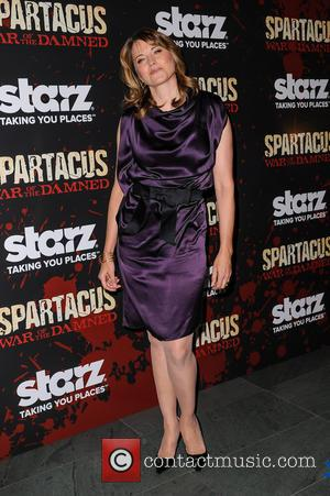 Lucy Lawless - Spartacus: War Of The Damned New York City USA Thursday 24th January 2013