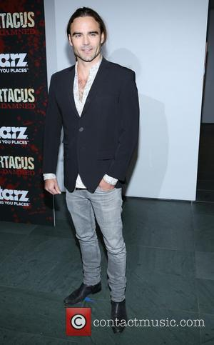Dustin Clare - Spartacus: War Of The Damned New York United States Thursday 24th January 2013