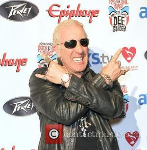 Dee Snider - Rock Legend Dee Snider honored in Anaheim, CA Anaheim Orange County  United States Thursday 24th January...