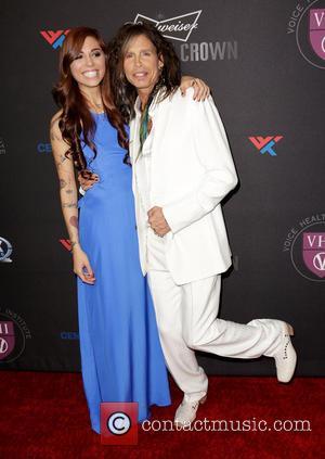 Christina Perri and Steven Tyler