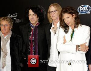Roger Daltrey, Paul Stanley, Tom Hamilton and Steven Tyler - 'Raise Your Voice' Benefit at Beverly Hills Hotel Beverly Hills...