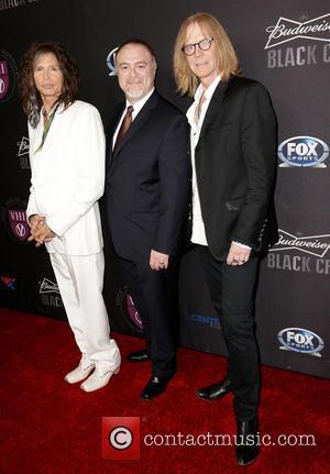 Steven Tyler, Dr. Steven Zeitels and Tom Hamilton - 'Raise Your Voice' Benefit at Beverly Hills Hotel Beverly Hills California...