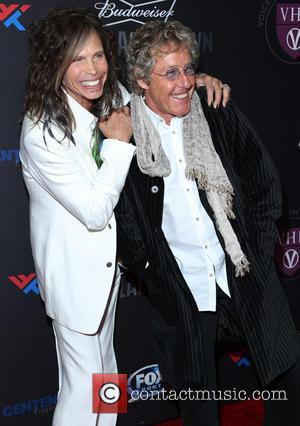 Steven Tyler and Roger Daltrey