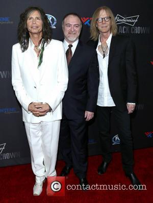 Steven Tyler, Steven Zeitels and Tom Hamilton