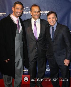 Jorge Posada, Joe Torre and Bob Costas