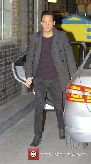 Gareth Gates - Celebrities at ITV London United Kingdom Friday 25th January 2013