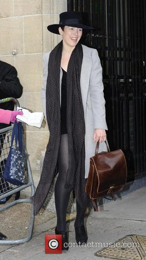Olivia Williams - Celebrities outside the ITV studios London United Kingdom Friday 25th January 2013