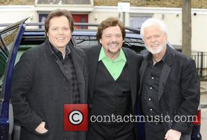 Donny Osmond, Jay Osmond and Merrill Osmond - Celebrities at the ITV studios London England United Kingdom Friday 25th January...