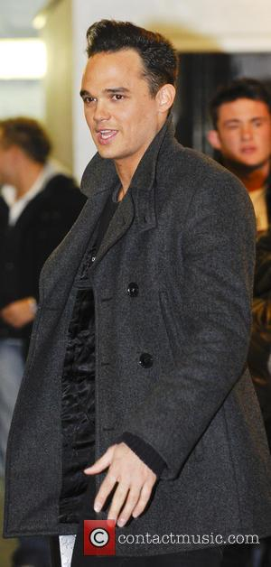 Gareth Gates - Celebrities at the ITV studios London United Kingdom Friday 25th January 2013