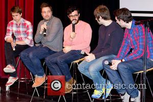 Joe Thomas, Simon Bird, James Buckley and Blake Harrison