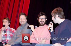 Joe Thomas, Simon Bird and James Buckley