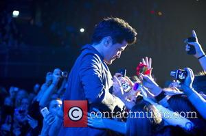 Danny O'Donoghue - The Script perform a sold out concert Amsterdam Holland Netherlands Friday 25th January 2013