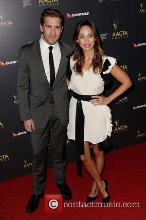 Hugh Sheridan and Natalie Imbruglia
