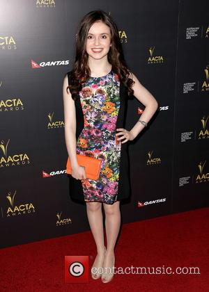 Lara Robinson - AACTA Arrivals West Hollywood California United States Saturday 26th January 2013