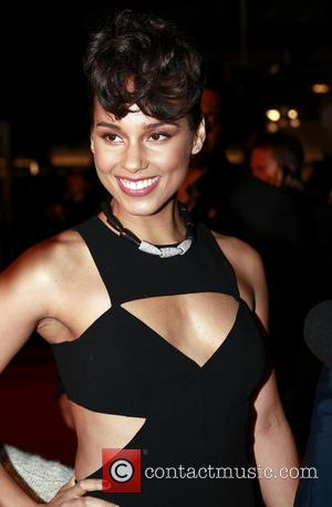 Alicia Keys - 2013 NRJ Music Awards Cannes France Saturday 26th January 2013