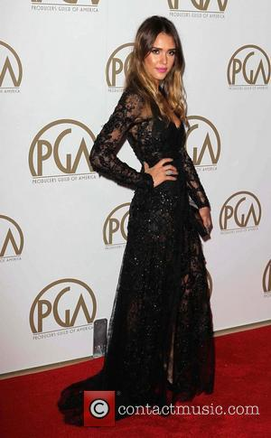 Jessica Alba - Producers Guild Awards Los Angeles California United States Saturday 26th January 2013