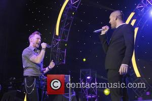 Ronan Keating and Shayne Ward