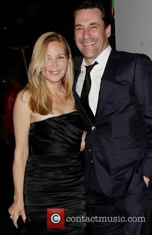 Jennifer Westfeldt and Jon Hamm