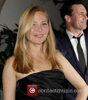 Jennifer Westfeldt and Jon Hamm - Entertainment Weekly Screen Actors Guild Party Hollywood California United States Saturday 26th January 2013