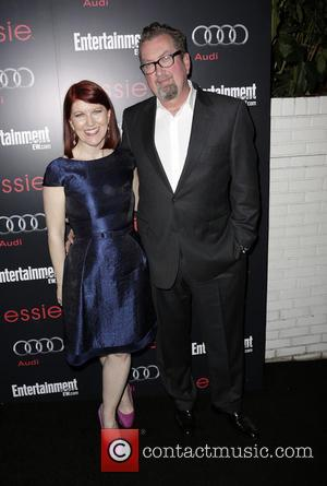 Kate Flannery and Chris Haston - Entertainment Weekly Screen Actors Guild Party Hollywood California United States Saturday 26th January 2013