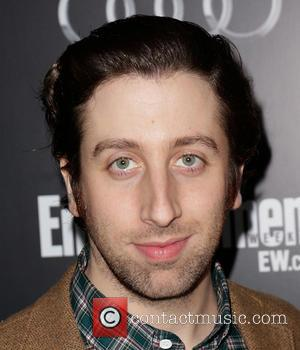 Simon Helberg and Jocelyn Towne - Entertainment Weekly Screen Actors Guild Party Hollywood California United States Saturday 26th January 2013