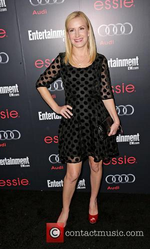 Angela Kinsey - Entertainment Weekly Screen Actors Guild (SAG) Party at Chateau Marmont - Arrivals Hollywood California United States Saturday...